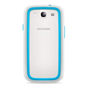 Belkin Surround Case / Cover for Samsung Galaxy S3 / S III (White / Blue) by Belkin