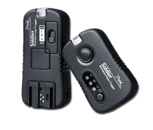 Pixel Wireless Flash & Studio Grouping Trigger Receiver ONLY for Sony F58AM F56AM F42AM F36AM Flashgun