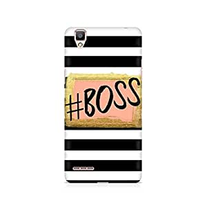 Ebby The Boss Premium Printed Case For Oppo F1