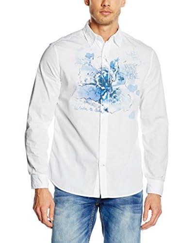 Desigual Camicia Uomo Aldo [Bianco]