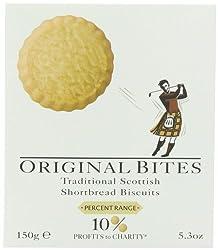 Shortbread House of Edinburgh Shortbread Bites Original, 150g