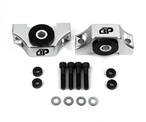 BlackPath - Civic Engine Torque Mount Honda B16 + B18 + B20 + D15 + D16 + D17 Motor (Polished) T6 Billet (B16 Engine Mount compare prices)