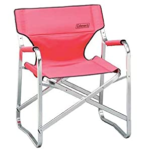 Coleman Portable Deck Chair Red Hunting And