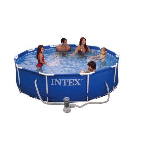 Cheap Buy Intex 10 39 X 30 Metal Frame Pool Set W 530gph