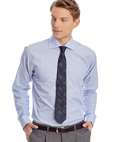CORTEFIEL Camicia Uomo [Blu Navy]