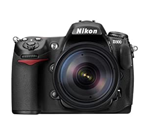 Nikon D300 DX 12.3MP Digital SLR Camera with 18-135mm AF-S DX f/3.5-5.6G ED-IF Nikkor Zoom Lens