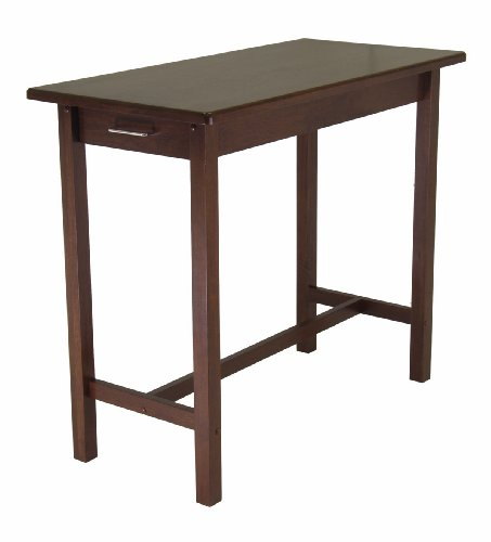 Cheap Kitchen Island Table With 2 Drawers By Winsome Wood (B003TFTQG2)