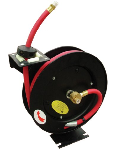 Am-Tech 50ft Retractable Air Hose Reel