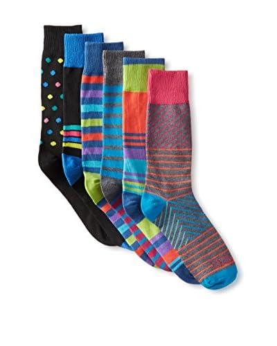 Funky Socks 30368H Men's Socks – 6 Pack, Assorted, One Size