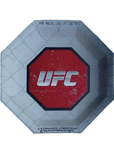 UFC Large Paper Plates (8ct) - 1