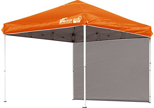 FIELDOOR easy Assembly! 2.5x2.5M OneTouch tarp tent Orange G03 dedicated Noticeboards for shop / side seat comes with one (highly water-resistant machined & silver coatings UV cut coatings)