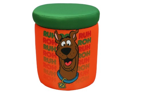 Warner Brothers Scooby Doo Roh Roh Storage Ottoman