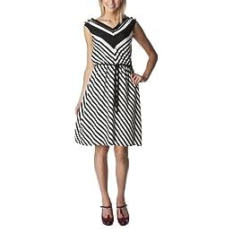 Product Image Merona® Collection Women's Sleeveless Brooklyn Dress - White/Black