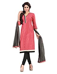 Mantra Fashion New Designer Havy Embroidery Peach And Black And Havy Printed Dupatta Chudidar Style Salwar Suit