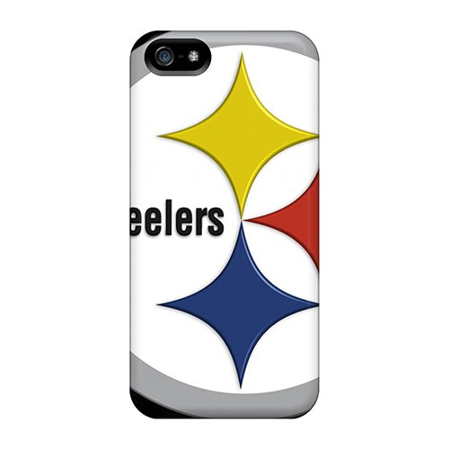 New Arrival Pittsburgh Steelers Cover Case With Football For Iphone 5/5s at Amazon.com
