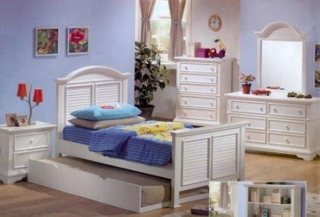 Cheap Hillcrest Kids Full Bedroom Set -Coaster 400121F (B005LWQQKA)