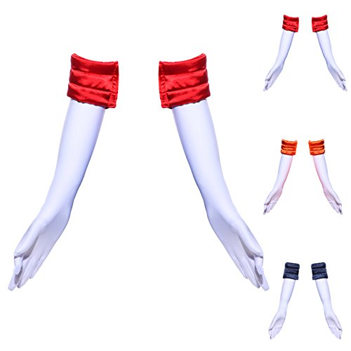 Ladies Girls Sailor Moon Themed Elbow Gloves Cosplay Costumes Fancy Dress Fit