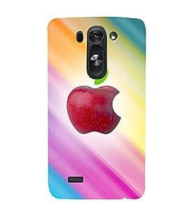printtech Apple Back Case Cover for LG G3 Beat::LG G3 Vigor::LG G3s::LG g3s Dual