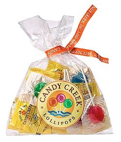 Candy Creek Sugar Free Fruit Lollipops, 20 Pop Sampler