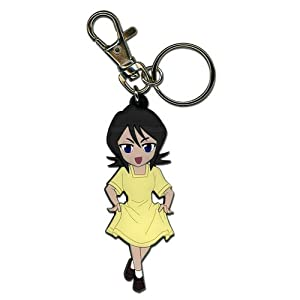 Chibi Rukia Bleach Key Chain GE Animation