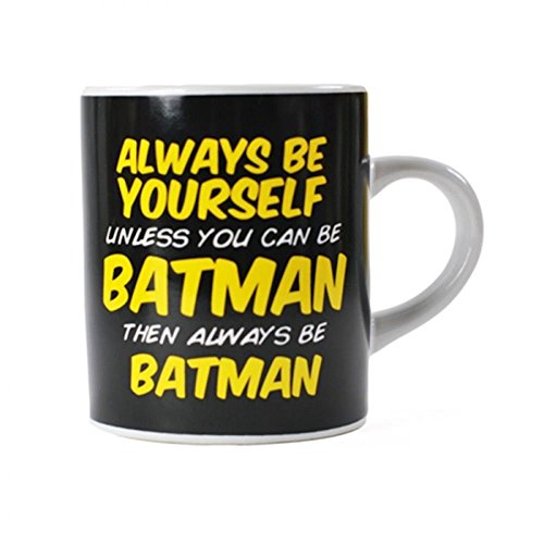 Always Be Yourself Unless You Can Be Batman Mini Gift Mug Black White Official