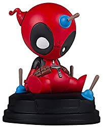 Gentle Giant Deadpool Marvel Animated Statue, Full Color, 8 x 2 x 2.5