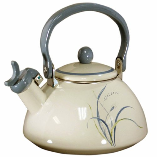 Corelle Coordinates 2-1/5-Quart Whistling Teakettle, Coastal Breeze