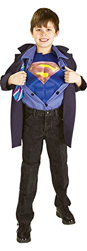 Boys - Clark Kent Superman Reverse Sm Halloween Costume