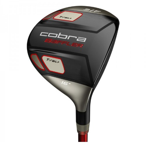 Cobra Men's Baffler T-Rail + Fairway Wood (Left Hand, Graphite, Lite, 5 Wood)