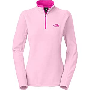 The North Face Glacier 1/4 Zip Womens Pink Lady