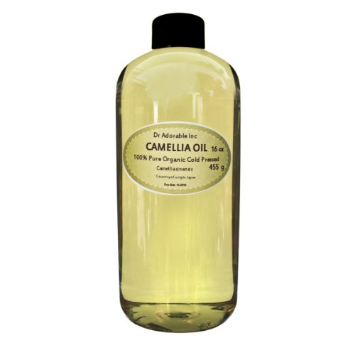 Camellia Seed Organic Carrier Oil Cold Pressed