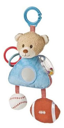 Mary Meyer Little MVP Activity Toy, Bear