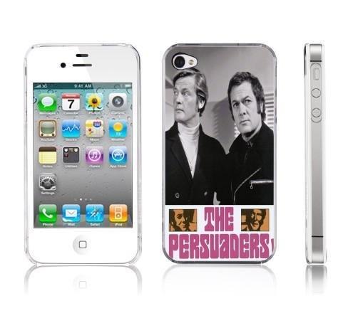 THE PERSUADERS Roger Moore Tony Curtis-cover rigida per iphone 4/4s, con cover posteriore