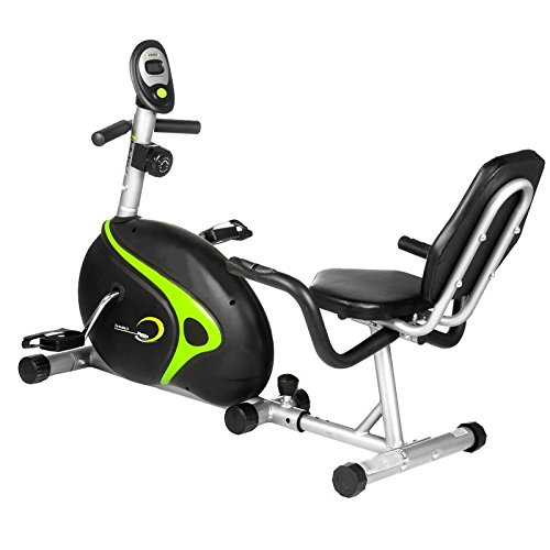 HMS Recumbent Magnetic BIKE R9203, Black/Green, taglia unica, 17 - 1 - 106