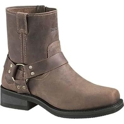 Amazon.com: Harley Davidson Brown El Paso Boots: Shoes