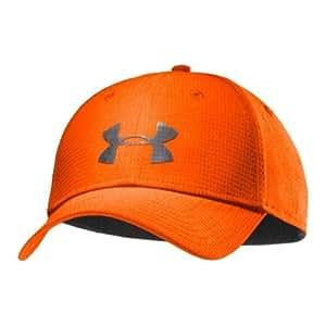 Under Armour Stretch Fit Cap Casquette pour homme Orange Orange/gris M/L