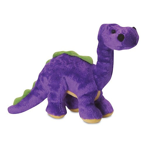 Really Tough Dog Toys Godog Dinos Bruto Green Small With Chew Guard Technology