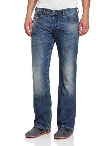 DIESEL - Jeans da Uomo ZATINY 806S - Regular - Bootcut - Non Stretch - blu, W38 / L34