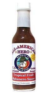 All-American Hero Hot Sauce U.S. Marines from All-American Hero BBQ, LLC