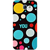 For Samsung Galaxy A8 (2016) Colored Circle ( Colored Circle, Circle, You, Good Qutoes ) Printed Designer Back Case Cover By FashionCops