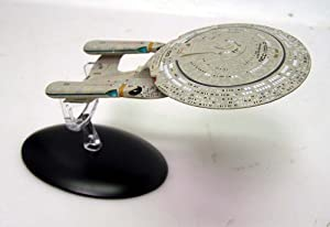 "Star Trek: Next Generation Die-Cast Metal Enterprise-D 6"" Spaceship"