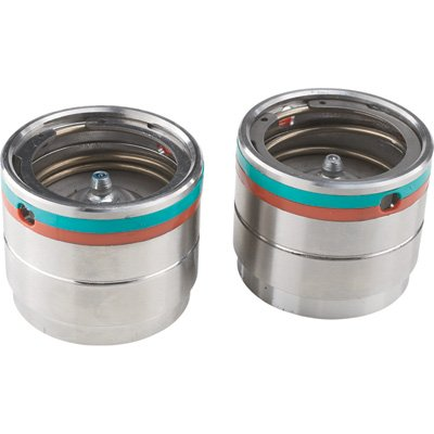 Ultra-Tow High-Performance Bearing Protectors - Pair, Fit 2.328in. Hubs, Stainless Steel, Grease Level Indicators, Model# 5712942