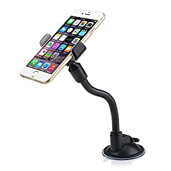 VicTsing Car Mount Windshield Mount Cellphone Holder for Samsung Galaxy S5 S4 S3 S2 Note 3 Note 2, Htc One Max M8 M7, iPhone 6, iPhone 6 plus, iPhone 5s 5c 5 4s 4g, Sony Z2 Z1