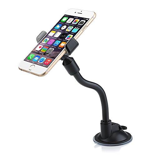Qtuo スマートフォン車載ホルダー 携帯ホルダー 360度回転可能 ゲル吸...