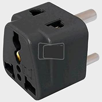 Amazon.in: Buy MX 2 WAY 3 PIN UNIVERSAL CONVERSION PLUG Online at ...