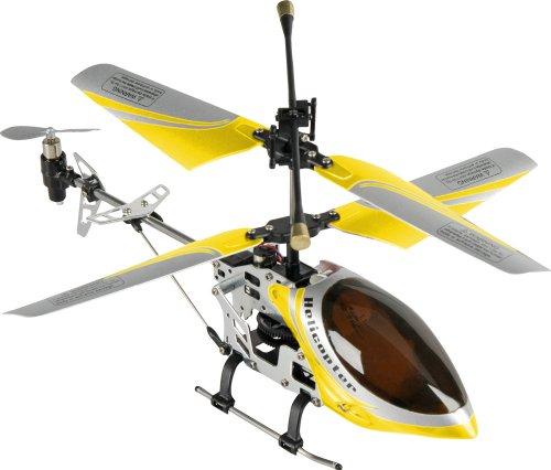 Bilder von Fun2Get REH46112-1 - RC Hubschrauber Mini Helikopter Falcon-X Metal RTF mit Gyro-Technologie, gelb