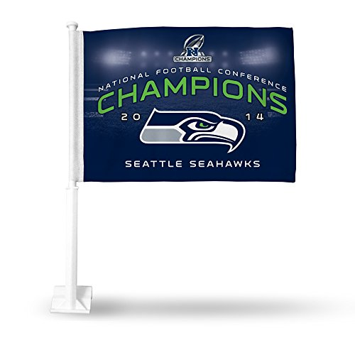 Seattle Seahawks Car Flags