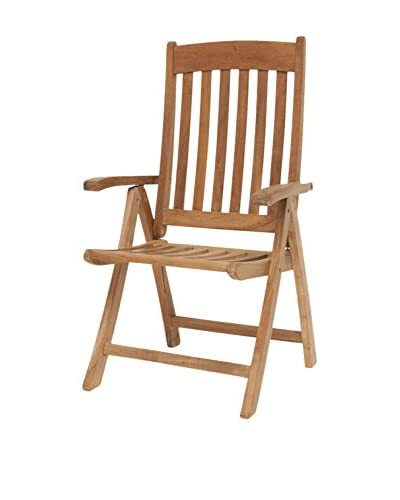 Amazonia Teak Belfast Position Chair, Brown
