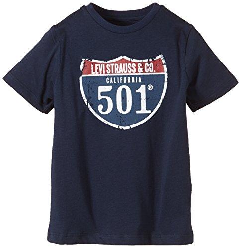 Levi's Kids - T-shirt, Bambini e ragazzi, Blu (Blau (Navy 04)), Taglia produttore: 8A