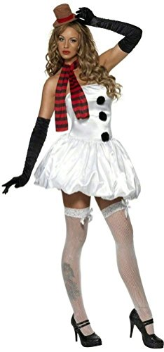 Coslove Fever Sexy Snowman Adult Costume Size Extra Small XS